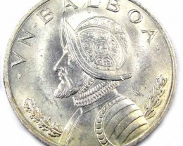 PANAMA SILVER COIN    1966    OP 896