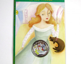 SLEEPING BEAUTY COIN n 19 PAGE STORY FOLDER  CO 1197