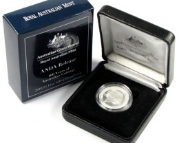 ANDA 100 Years Australian coinage  SILVER COIN J 1685