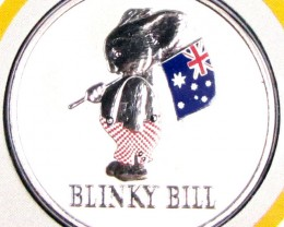 UNC 2010 BLINKY BILL ONE DOLLAR BABY COIN     J 1687