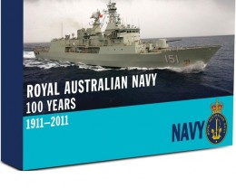 100 Years Royal Australian navy 1 Oz Silver coin Badge