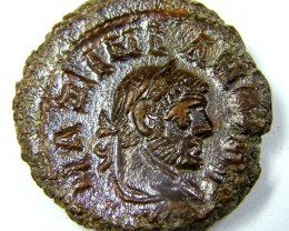 ANCIENT ROMAN MAXIMIAN  COIN FROM EGYPT  AC 746