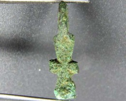ANCIENT ROMAN BYZANTINE LEAD CROSS ARTIFACTE AC 770
