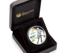 WALLABIES - MEN OF GOLD 2011 1OZ SILVER PROOF COIN