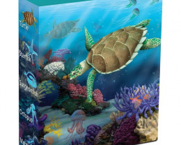 Sea Life II - The Reef - Hawksbill Turtle  1/2oz silver/pro