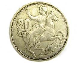 GREECE 1960 .835 SILVER COIN      J 1900