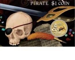 20111 WILLIAM KID PIRATE COIN