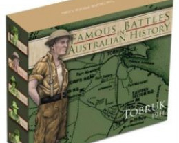 Tobruk 2011 Famous Battles silver proof 1 oz coin