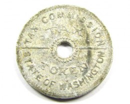 1935 TAX COMMISSION TOKEN WASHINGTON  CO994