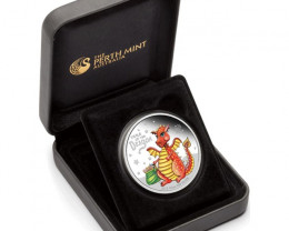 Baby Dragoan 2012 1/2Silver Proof Coin