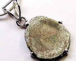 2000 YR OLD KING  COIN IN SILVER PENDANT CO 1116