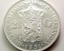 1931 2/1/2 G .720 SILVER COINCOIN    CO 1269