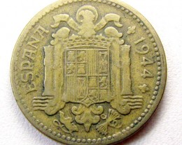SPAIN 1944  1 PESTA COIN    CO 1297
