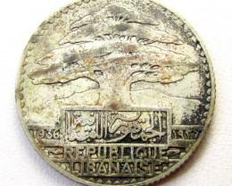 1936 25 P .680 SILVER  COIN    CO 1298