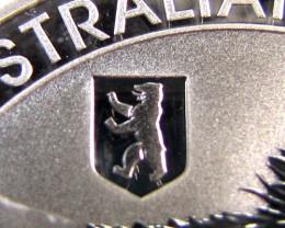 BEAR PRIVY 2012 AUSTRALIAN   OUNCE KOALA SILVER   COIN