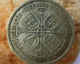 1936 florin COINS 50% SILVER   CO 1323