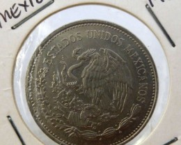 MEXICAN $5000 1988 COIN J 1987