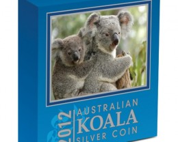 AUSTRALIAN KOALA 2012 5OZ SILVER PROOF COIN