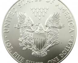 2011  UNC  AMERICAN SILVER EAGLE  SILVER COIN  CO930