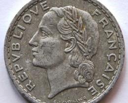 France 5 Francs 1949 KM#888b