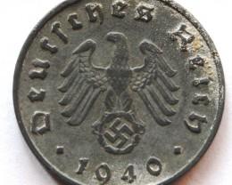 Germany 10 Reichspfennig 1940 A KM#101