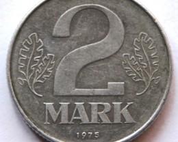Germany 2 Mark 1975 KM#48