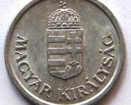 Kingdom of Hungary 1 Pengő 1944 KM#521