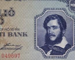 Hungary Egymillió (1.000.000) Pengő 1945. Pick 122