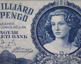 Hungary Egymilliárd (1.000.000.000) Milpengő 1946. Pick 131
