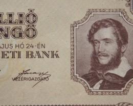 Hungary Egymillió (1.000.000) Milpengő 1946. Pick 128