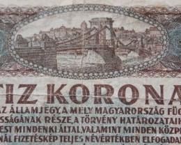 Hungary Tíz (10) Korona 1920 Pick 60