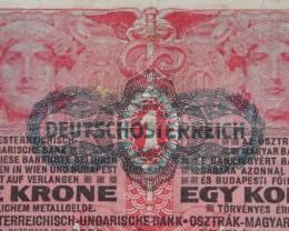 Egy (1) Korona Oesterreichisch-Ungarische Bank 1916 Pick 10