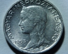 Hungary 5 Fillér 1965 BP KM#549