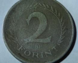 Hungary 2 Forint 1962 Rare