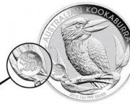 2012 AUSTRALIAN  KOOKABURRA ONE OUNCE SILVER  COIN DRAGON P