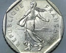 France 2 Francs 1982 KM# 942.1