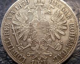 1879 HVNGAR BOHEM GAL LOD ILL REX   SILVER COIN CO 1423