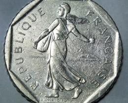 France 2 Francs 1981 KM# 942.1