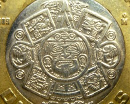 AZTEC SUN GOLD COIN PENDANT CO1469