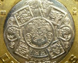 AZTEC SUN GOD COIN PENDANT CP 347