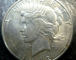 1922  PEACE DOLLAR SILVER COIN   CO1499