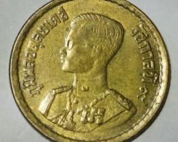 Thailand 25 Satang-Rama IX. 2500 (1957) Y#80