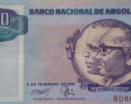 Angola 500 Kwanzas 1991