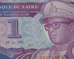 Zaire -1 Nouveau Zaire 1993