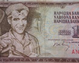 Yugoslavia 10 Dinara 1968
