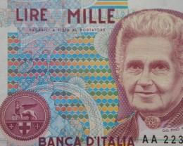 Italy 1000 Lire 1990