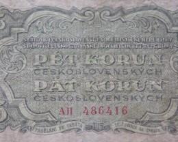 Checholslovakia 5 Korun 1961