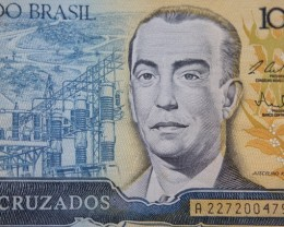 Brazil 100 Cruzados UNC