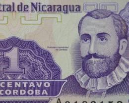 Nicaragua 1 centavo UNC