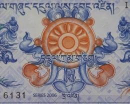 Bhutan 1 Ngultrum 2006 UNC